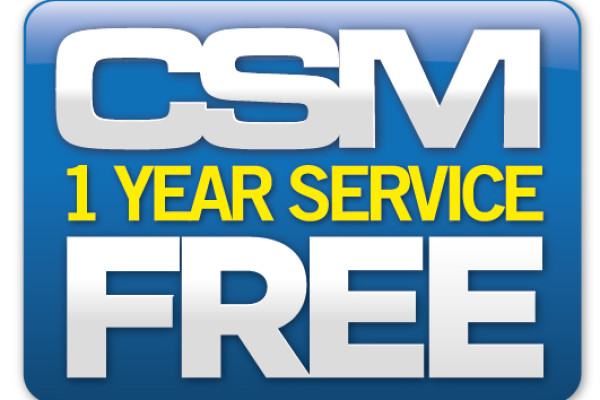 Free Additional Services for 1 YEAR!