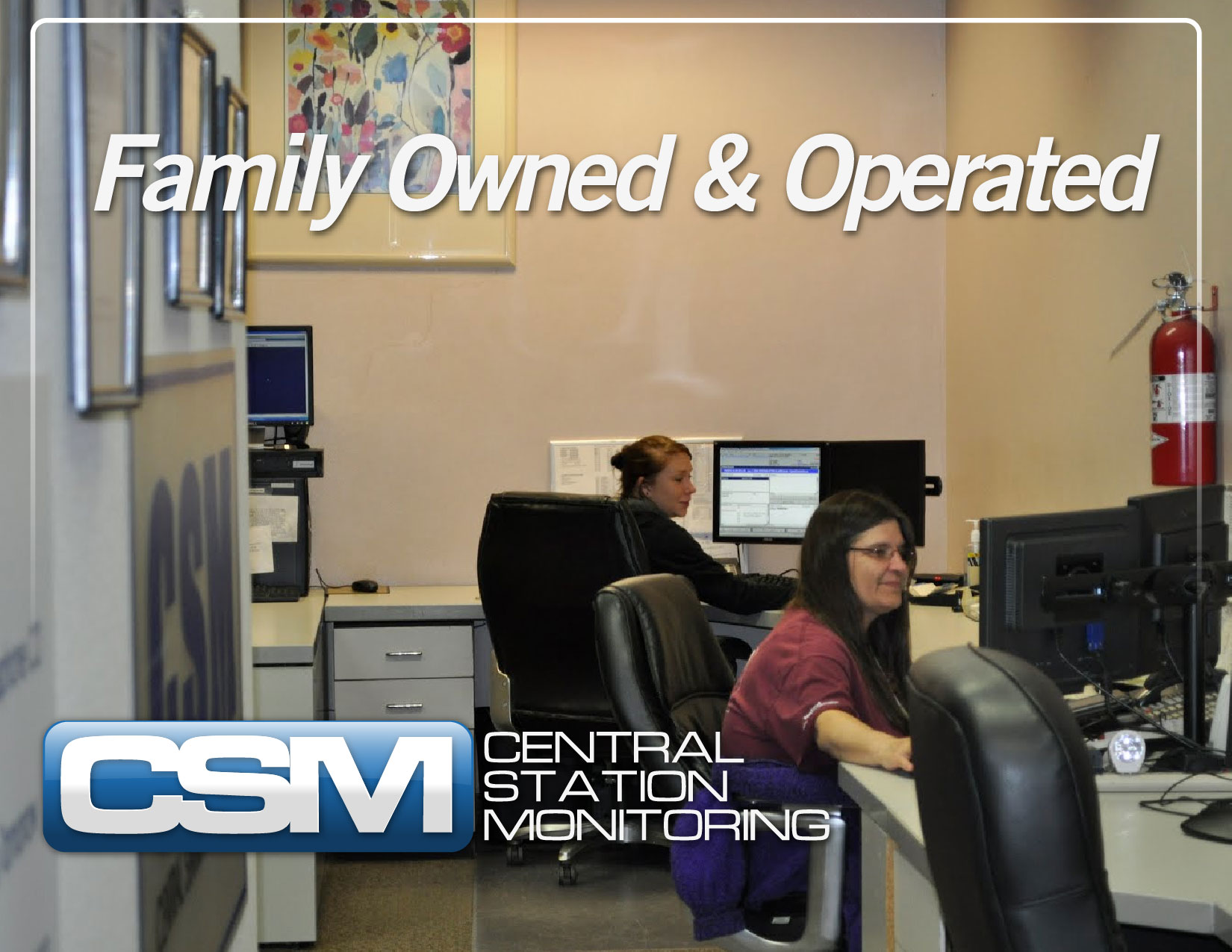Central Monitoring Station : Contact us csm central station monitoring